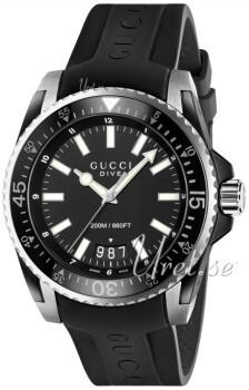 Gucci Svart/Gummi
