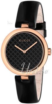 Gucci Svart/Läder Ø32 mm