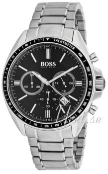 Hugo Boss Svart/Stål Ø44 mm