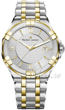 Maurice Lacroix Aikon Quartz Silverfärgad/Gulguldtonat stål