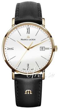 Maurice Lacroix Eliros Vit/Läder
