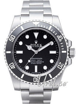 Rolex Submariner Svart/Stål Ø40 mm