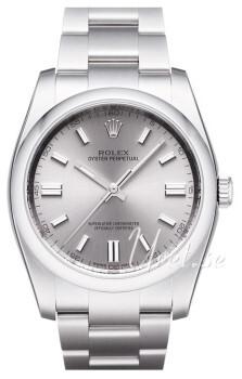 Rolex Perpetual 36 Silverfärgad/Stål