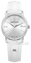 Maurice Lacroix Eliros Date Ladies Silverfärgad/Läder