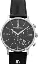 Maurice Lacroix Eliros Chronograph Svart/Läder