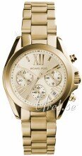 Michael Kors Bradshaw Chronograph Champagnefärgad/Gulguldtonat s
