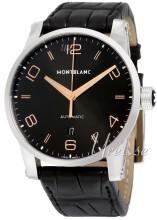 Montblanc Timewalker Svart/Läder