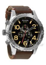Nixon The 51-30 Leather Svart/Läder