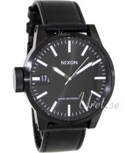 Nixon The Chronicle Svart/Läder