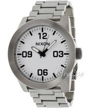 Nixon The Corporal SS Vit/Stål Ø48 mm