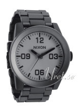 Nixon The Corporal SS Grå/Stål Ø48 mm
