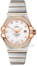 Omega Constellation Co-Axial 31mm Vit/18 karat roséguld Ø31 mm