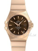 Omega Constellation Co-Axial 31mm Brun/18 karat roséguld Ø31 mm
