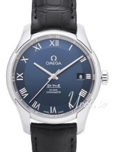 Omega De Ville Co-Axial 41mm Blå/Läder