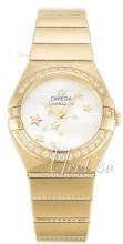 Omega Constellation Quartz 24mm 18 karat gult guld Ø24 mm