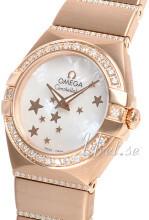 Omega Constellation Quartz 24mm 18 karat roséguld Ø24 mm
