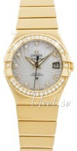 Omega Constellation Co-Axial 27mm 18 karat gult guld