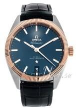 Omega Constellation Globemaster Co-Axial Chronometer 39mm Blå/Lä