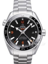 Omega Seamaster Planet Ocean 600m Co-Axial GMT 43.5mm Svart/Stål