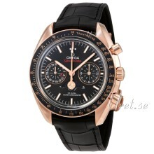 Omega Speedmaster Moonwatch Svart/Läder Ø44.25 mm