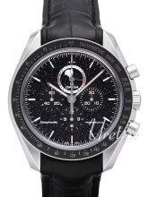 Omega Speedmaster Moonwatch Professional Moonphase 44.25mm Svart/Läder Ø44.25 mm