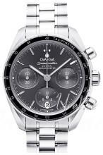 Omega Speedmaster Chronograph 38Mm Grå/Stål Ø38 mm