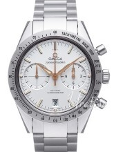 Omega Speedmaster 57 Co-Axial Chronograph 41.5mm Silverfärgad/St