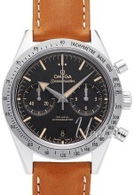 Omega Speedmaster 57 Co-Axial Chronograph 41.5mm Svart/Läder