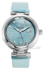 Omega De Ville Ladymatic Co-Axial 34mm Blå/Satin Ø34 mm