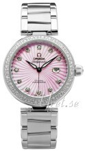 Omega De Ville Ladymatic Co-Axial 34mm Rosa/Stål Ø34 mm