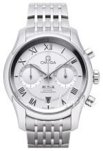 Omega De Ville Co-Axial Chronograph 42mm Silverfärgad/Stål