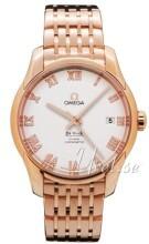 Omega De Ville Co-Axial 41mm Silverfärgad/18 karat roséguld