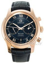 Omega De Ville Co-Axial Chronograph 42mm Blå/Läder
