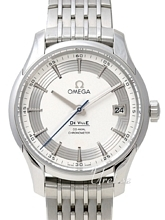 Omega De Ville Hour Vision Co-Axial 41mm Silverfärgad/Stål Ø41 m