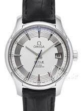 Omega De Ville Hour Vision Co-Axial 41mm Silverfärgad/Läder Ø41