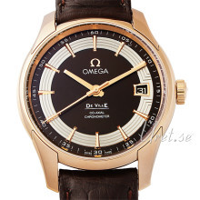 Omega De Ville Hour Vision Co-Axial 41mm Brun/Läder