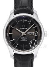 Omega De Ville Hour Vision Co-Axial Annual Calendar 41mm Grå/Läd