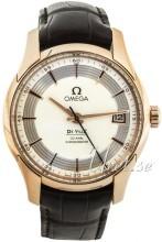 Omega De Ville Hour Vision Co-Axial Annual Calendar 41mm Silverf