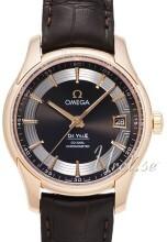 Omega De Ville Hour Vision Co-Axial Annual Calendar 41mm Svart/L