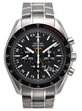 Omega Speedmaster Hb-Sia Co-Axial GMT Chronograph Svart/Titan