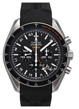 Omega Speedmaster Hb-Sia Co-Axial GMT Chronograph Svart/Titan Ø44.25 mm