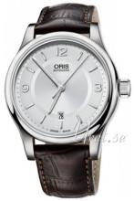 Oris Culture Silverfärgad/Läder