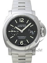 Panerai Contemporary Luminor Marina Automatic Svart/Stål Ø44 mm