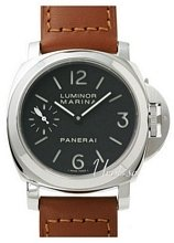 Panerai Historic Luminor Marina Svart/Läder Ø44 mm