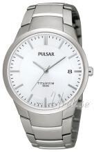 Pulsar Dress Silverfärgad/Titan Ø37 mm