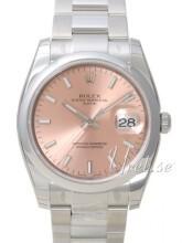 Rolex Perpetual Date Rosa/Stål Ø34 mm