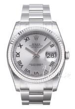 Rolex Datejust Steel Silverfärgad/Stål