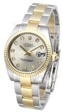 Rolex Datejust 31 Silverfärgad/Stål