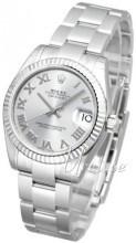 Rolex Datejust Midsize Silverfärgad/Stål