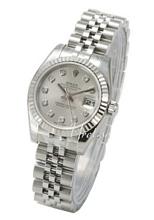 Rolex Lady Datejust Silver Dial Jubilee Bracelet